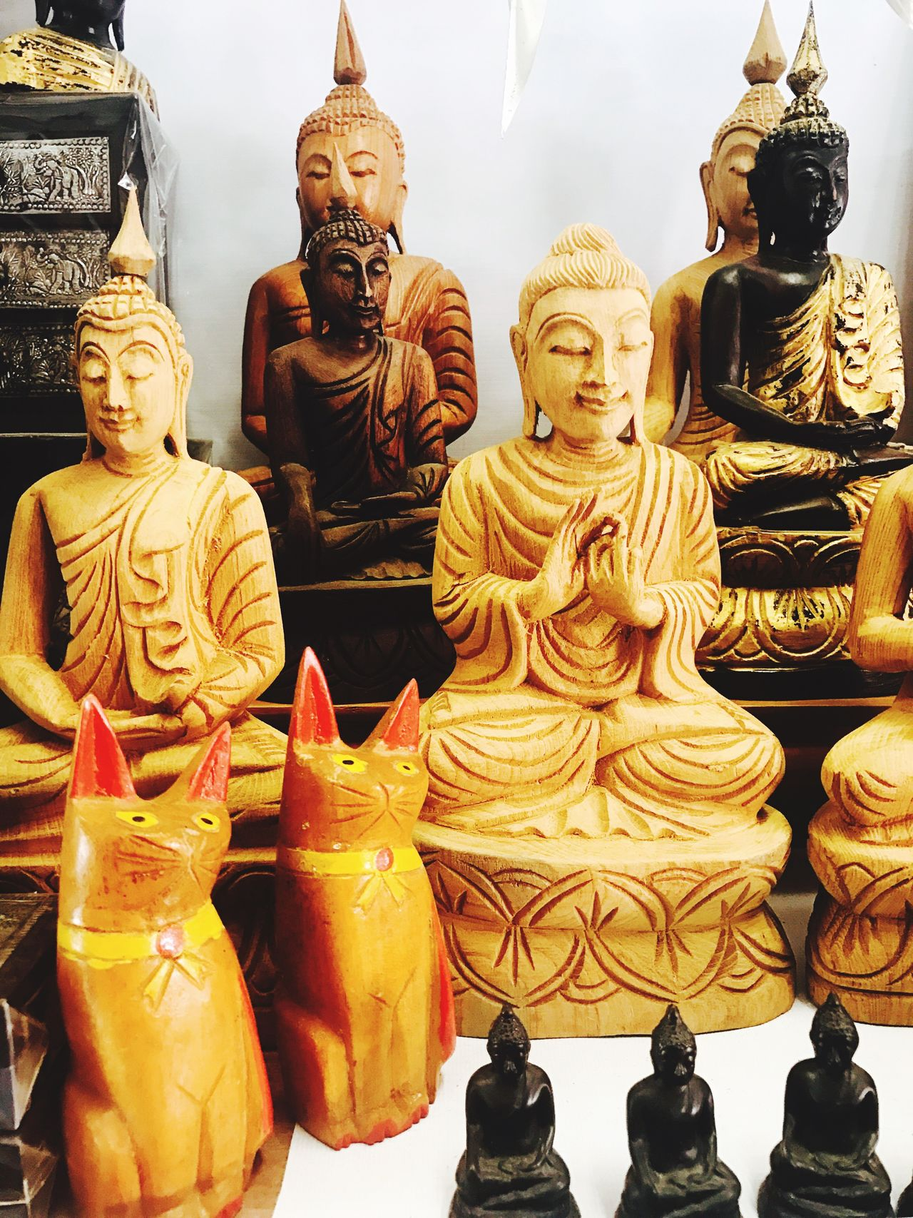 Buddha Monk  Monks Sukhothai Sukhothaihistoricalpark Thailand Souvenir Handmade