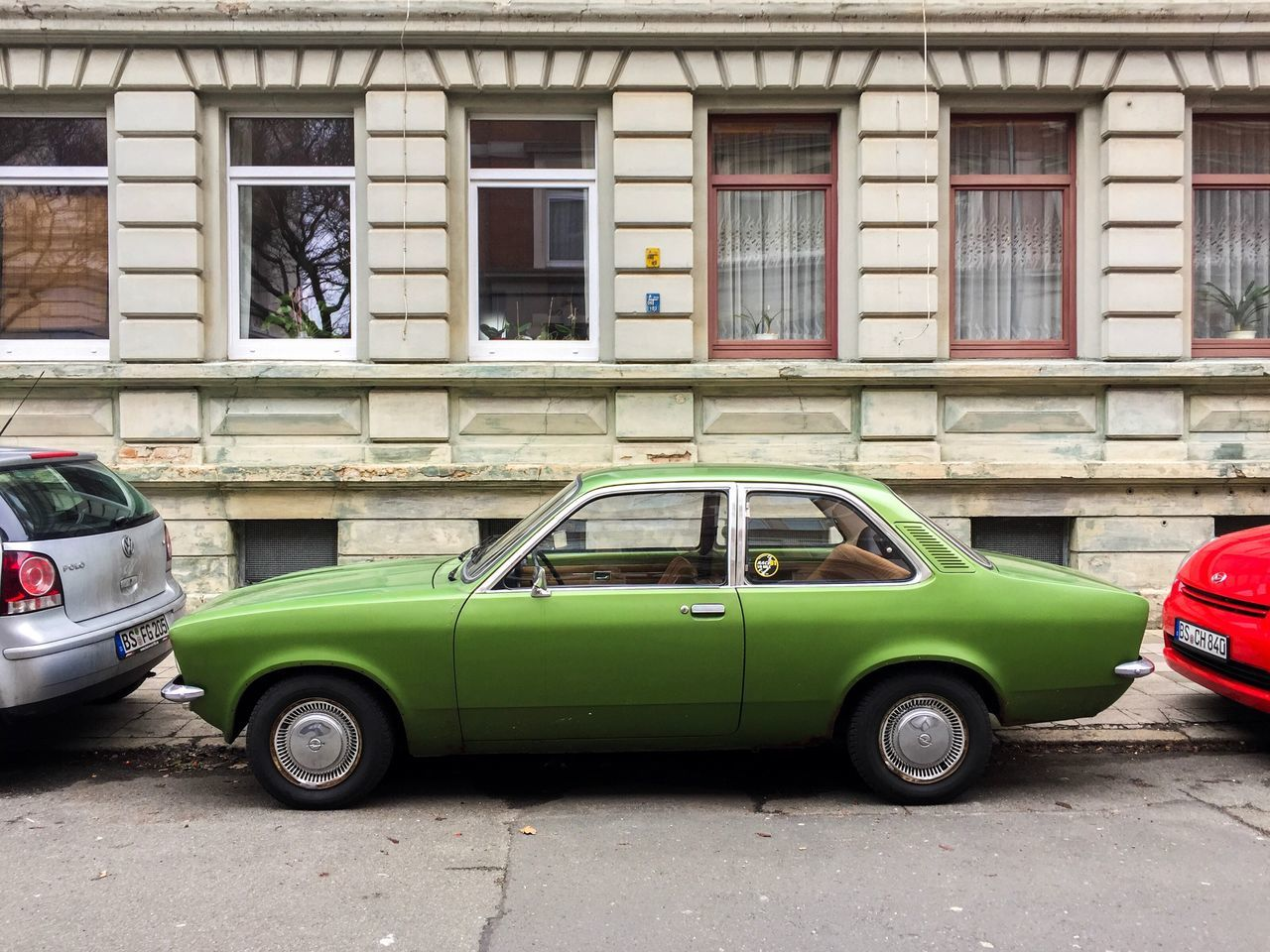 Car Opel Transportation Mode Of Transport Land Vehicle Building Exterior Architecture Built Structure Stationary Parking Outdoors Day No People Transportation Brunswick Lowersaxony Niedersachsen