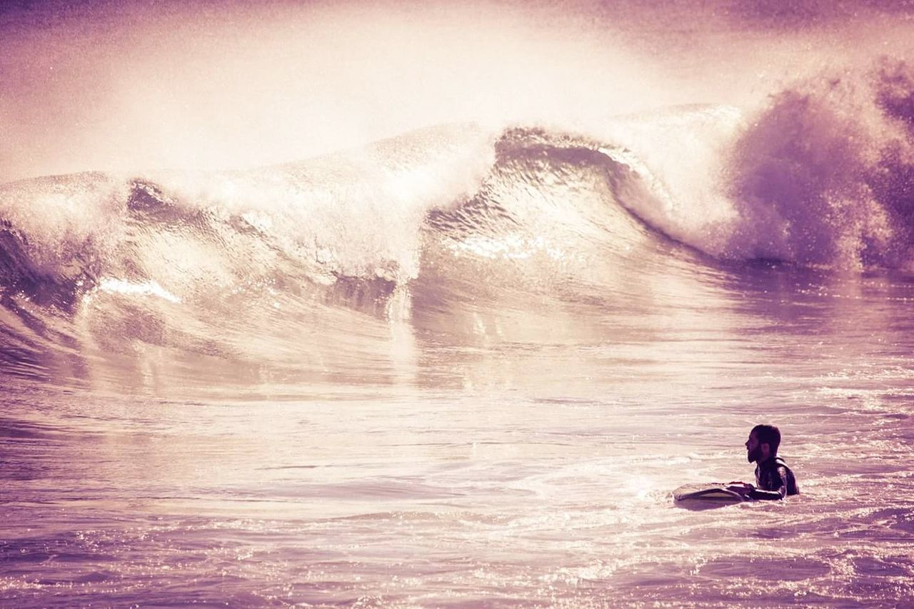 Surfer waiting for his wave... Surf Surfer Wave Ocean Waves Ocean Ocean Life Nature Beauty In Nature Water Outdoors Sea Beach First Eyeem Photo