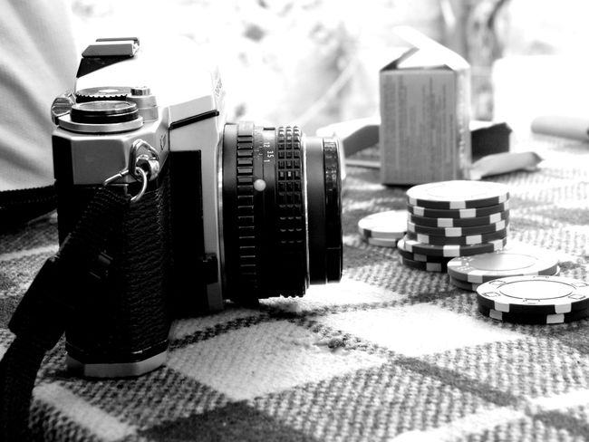 Camera and Chip Monochrome Photography