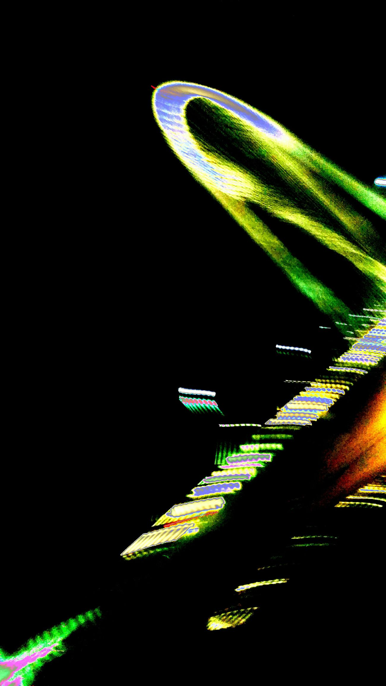 Speeding Abstract Photography Night