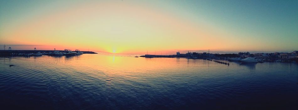 Sunrise Panoramic Landscape