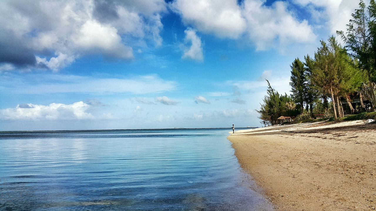Saipan Photos Beautiful Beach Nature Life Is A Beach On The Beach Light And Shadow Eye4photography  Showcase: December Taking Photos Traveling Clouds And Sky Ocean Cloudpark Landscape Blue Wave Samsung Galaxy Note 4 Streamzoofamily People Of The Oceans The Great Outdoors - 2016 EyeEm Awards