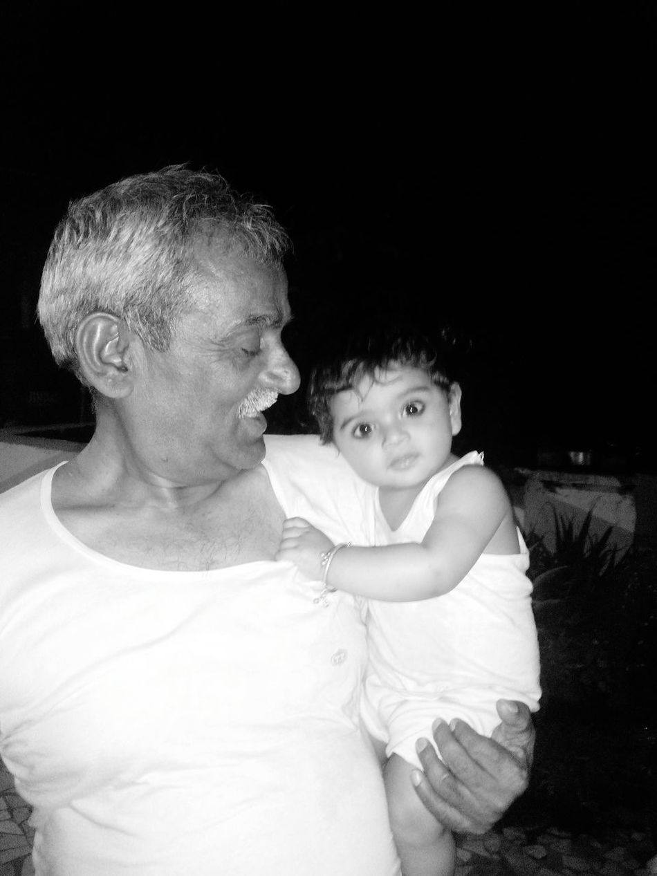 My Favorite Photo Child And Grandpa Feeling Protected Babyboy Fun And Happiness