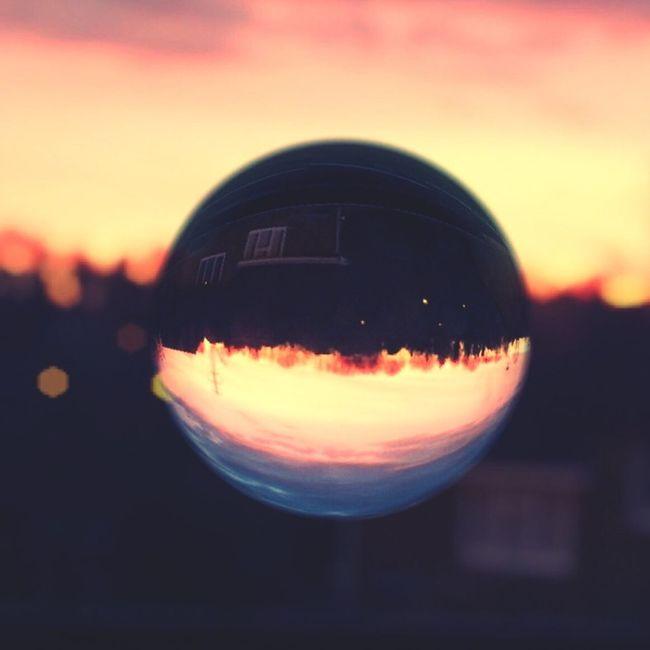 Swindon sunset. Marble Effects Sunset Swindon Nature