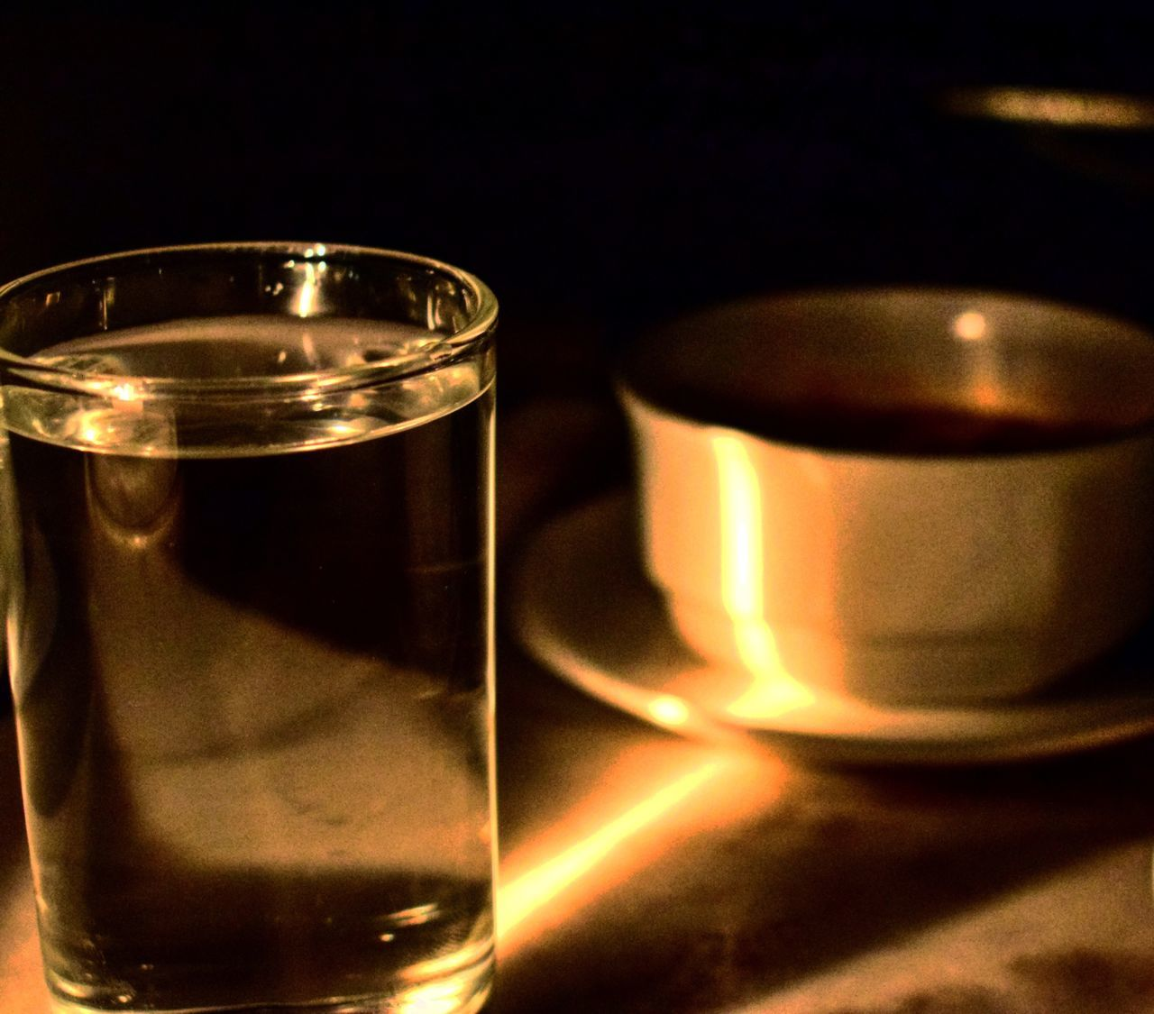 Reflections.. EyeEmNewHere Lightporn Light And Shadow light and reflection Closeup Food And Drink Indoors