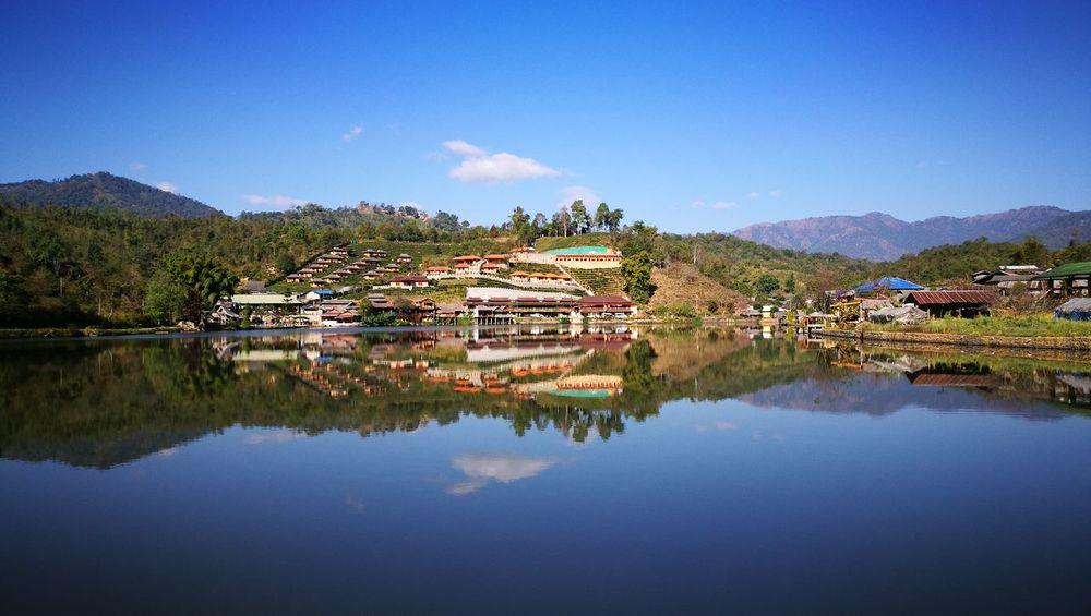 Village Lagoon Nature Huawei P9 Leica HDR