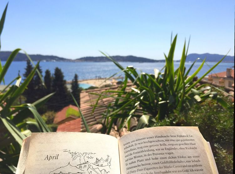 April Month Text Sea Day Water Sky Outdoors No People Rooftop View  Rooftop Myyearmyview MyYear Season  Literature Book Provence Holidays Sun Sunlight Relaxing France Toulon Côte D'Azur EyeEmNewHere EyeEmNewHere Break The Mold Neighborhood Map