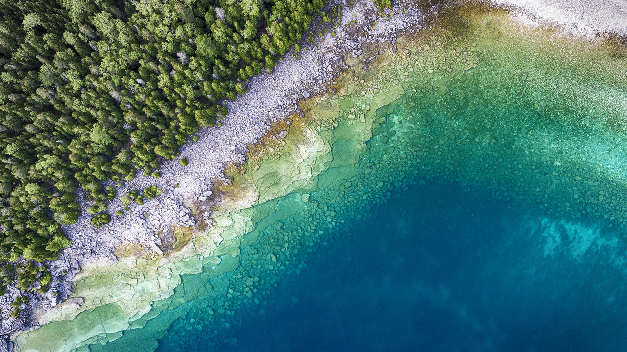 Geology Pattern Scenics Wilderness Multi Colored Lake Aerial View Drone  Aerial Great Lakes Stone Sea Shoreline Clear Water_collection Coastal Clean Pure Fresh Blue Nature Full Frame Textured  Water Tranquility The Great Outdoors - 2017 EyeEm Awards