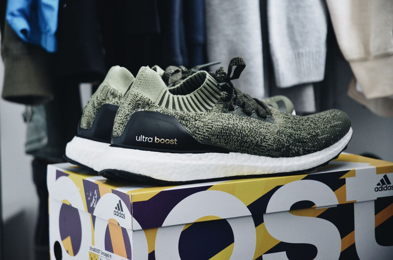 Close-up Sneakerhead  Sneakers Adidas Boost Ultraboostuncaged Ultraboost Adidasboost