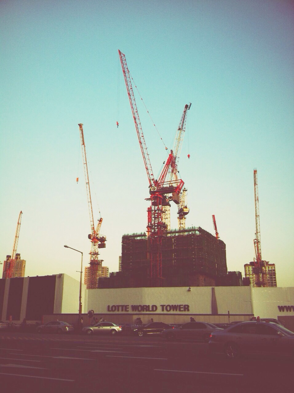 Construction Crane Missing