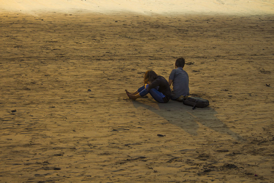 An evening at Girgaon Chaupati Mumbai Beach Photography Beach Side Beauty In Nature Couple At Ea Evening On Beach Evening On The Beach Lifestyles Love @ Beach Love Couple Love ♥ Outdoors Real People Relaxation Sitting Togetherness Two People