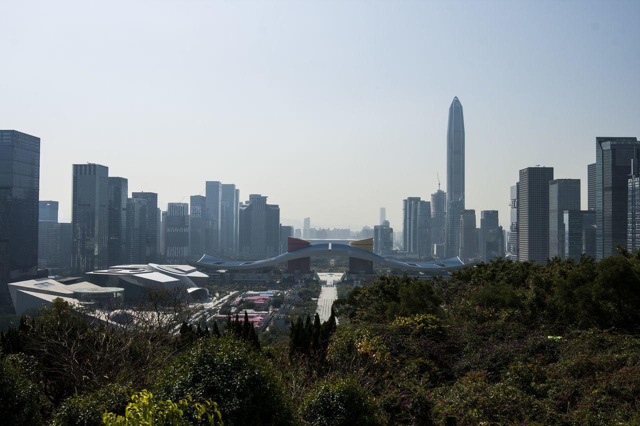 City Urban Skyline