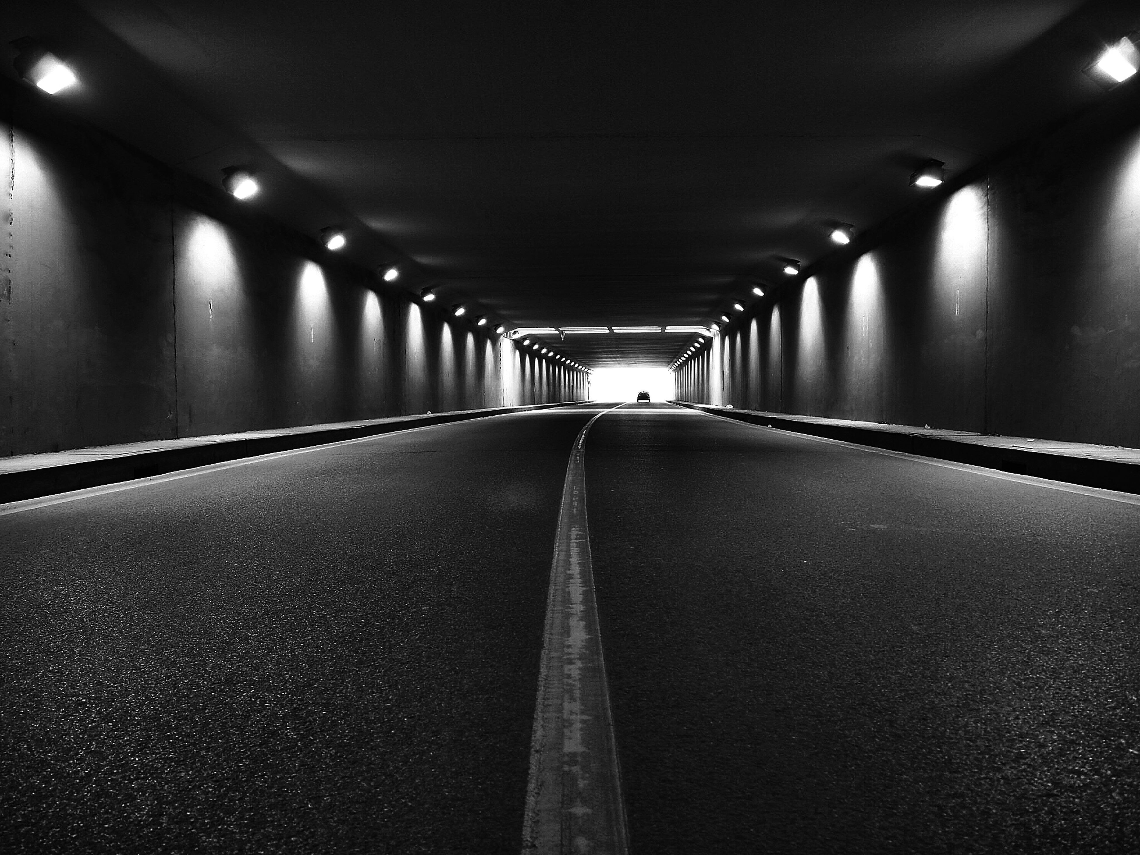 the way forward, diminishing perspective, indoors, illuminated, vanishing point, lighting equipment, ceiling, empty, tunnel, transportation, long, in a row, corridor, absence, surface level, architecture, built structure, night, light - natural phenomenon, no people