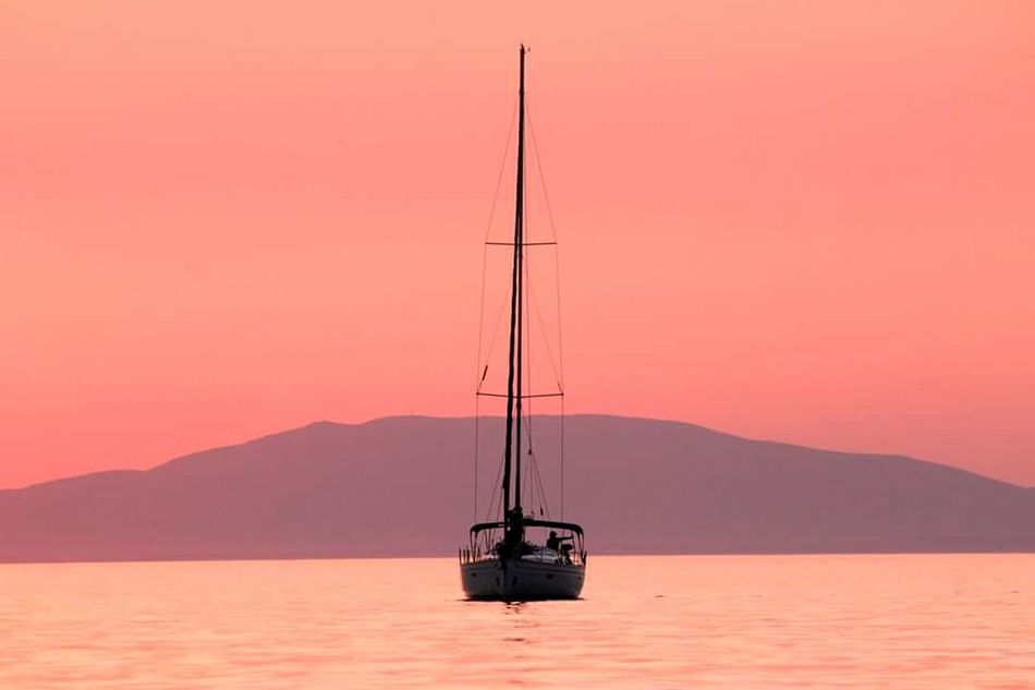Croatia Explosion Colors Enjoying Life Memories Summerimissyou Beauty In Nature Sunset Sea And Sky Tranquility Keep Calm And Be Happy