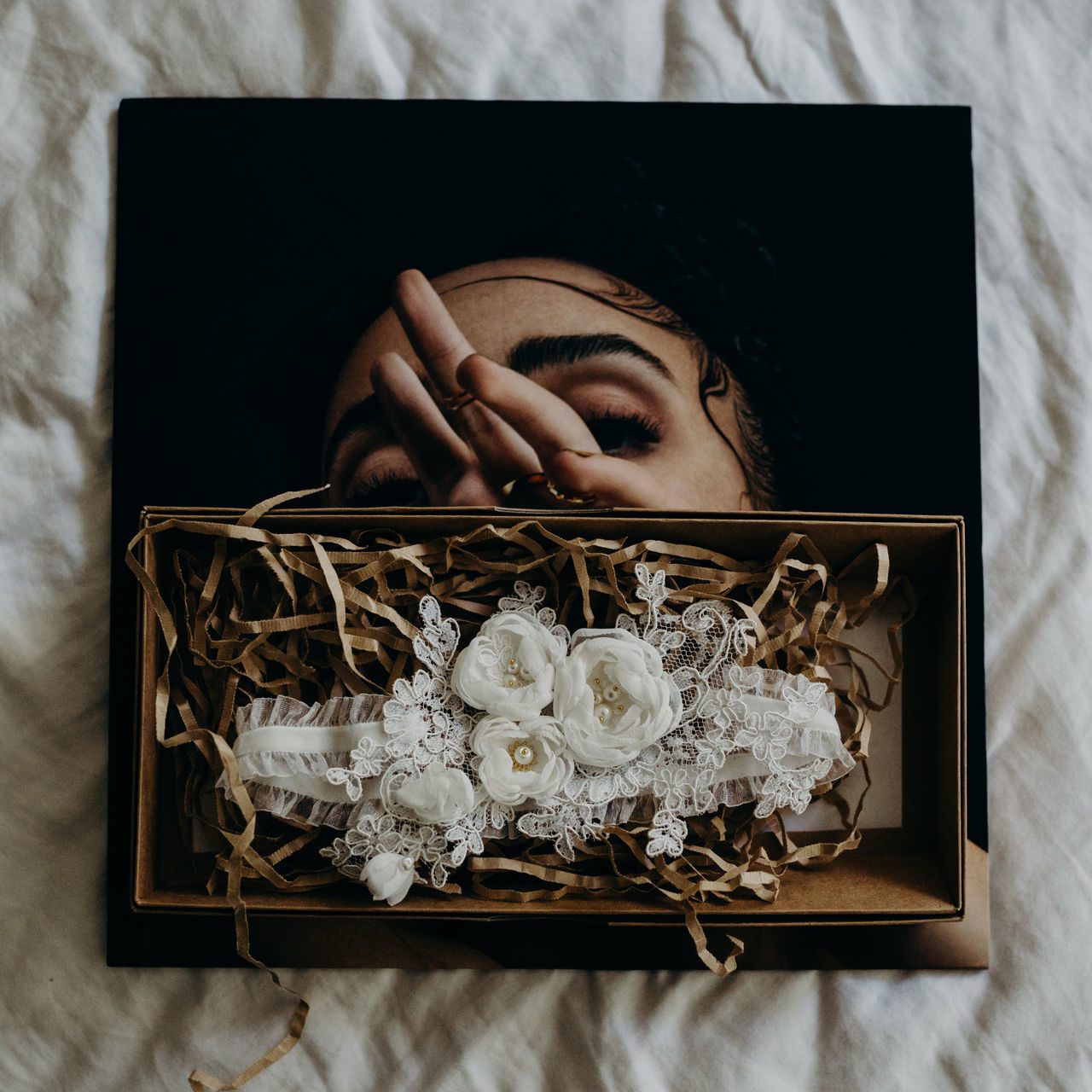 Accessories Art Is Everywhere Bedroom Close-up Day Directly Above Flower Human Hand Indoors  One Person People Picture Frame Real People Wedding Weddings Around The World Young Adult