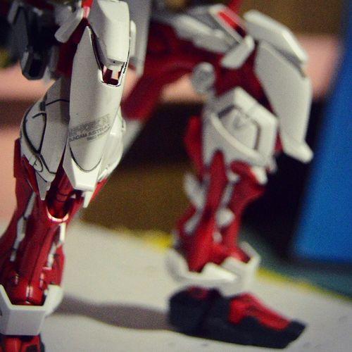 ARF knee Astray AstrayRedFrame Arf Gundam BANDAI Gunpla Red