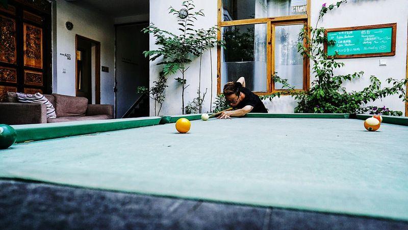 Pool Table Dali Old Town Yunnan China EyeEm China Dali Yunnan Dalí Shooting Pool Fun And Games Games