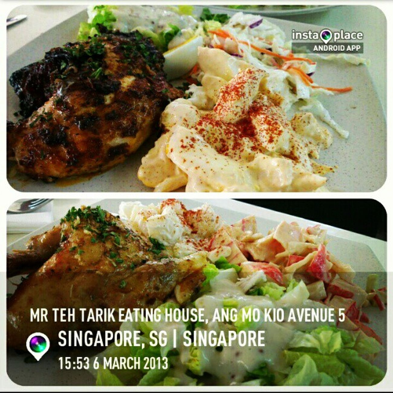 Charco's for lunch with @nurhidayahhh. Theflamingchicken