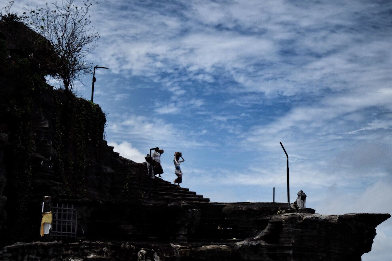 Balinese ladies Bali INDONESIA Indonesia_photography Tanah Lot Temple Culture Ladies People Silhouette Travel Travel Photography