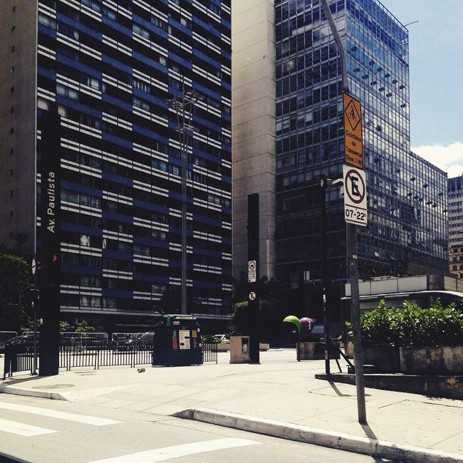 My Country In A Photo Brazil 🇧🇷💚the famous Avenida Paulista in São Paulo, Brazil