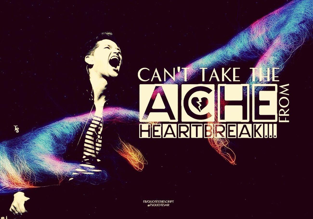 Maybe.. Thescript Song Lovely Heartbreak Thatoneguy Memories Imokay