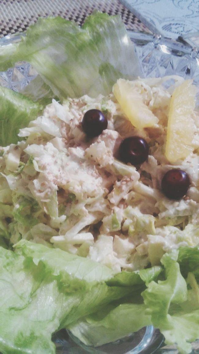 Love ♥ Food Porn Food <3 Eating Delicia Hi World Salads Salad Time Chiken Salad cuando cocino...💗
