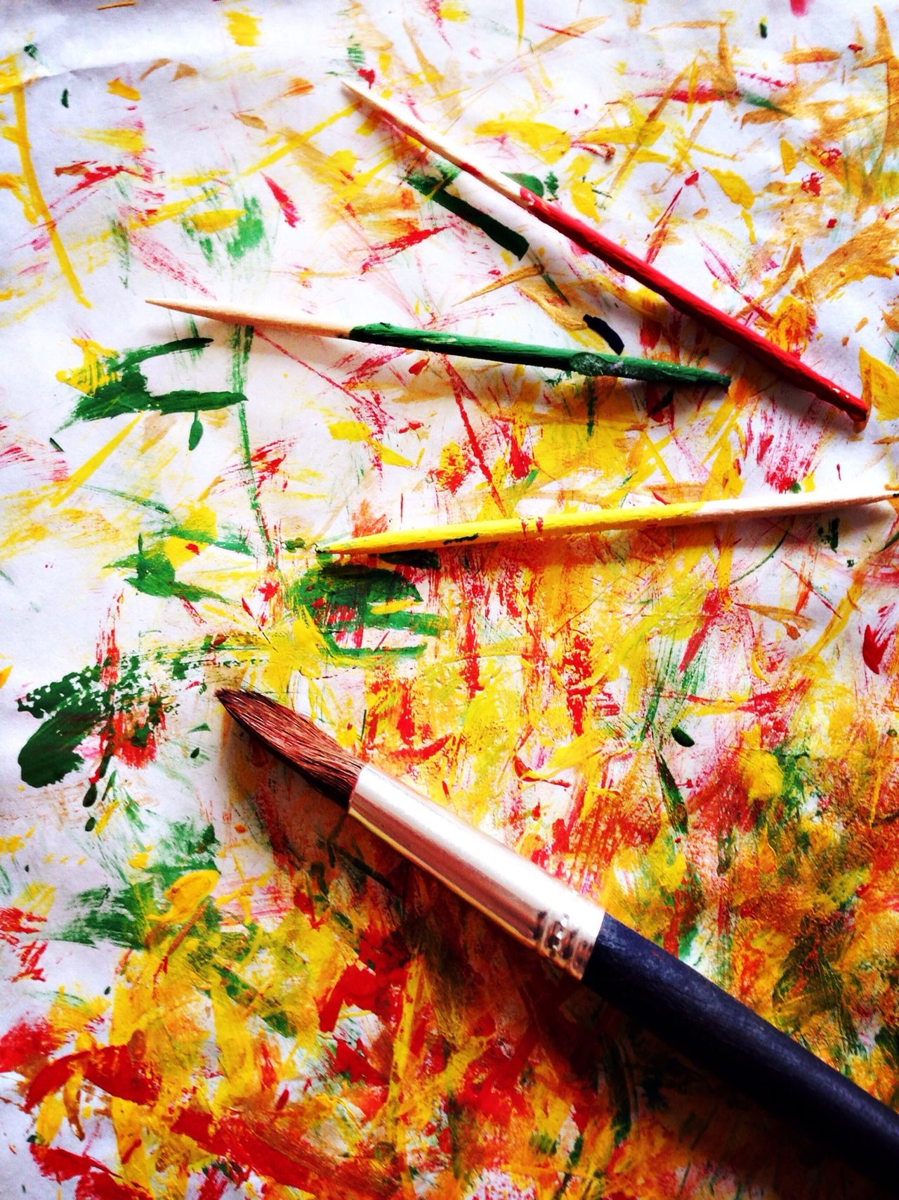 Painting Creativity Painting Colorful Colours Colourful Paintbrush Painterly
