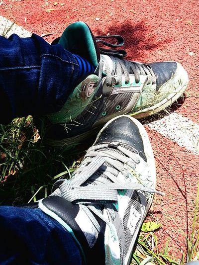 Striking Fashion Sneakers DCShoes Park NatureandPeople