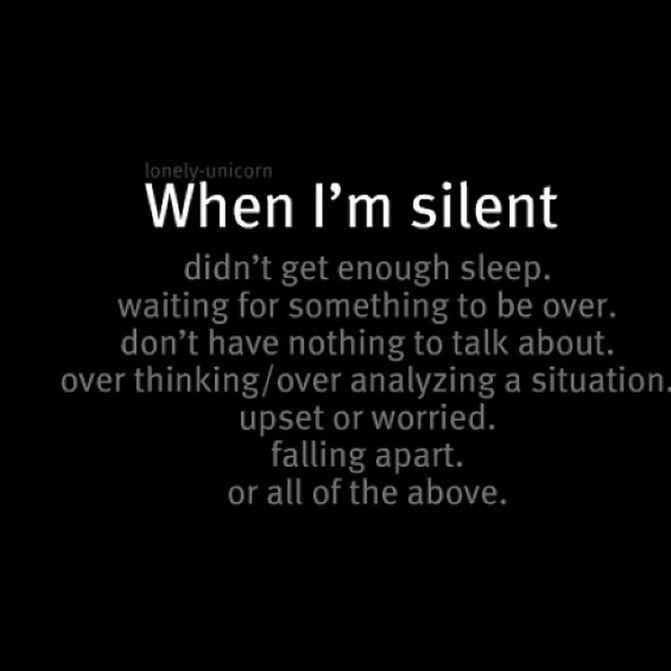 Silent Moodoff Alone