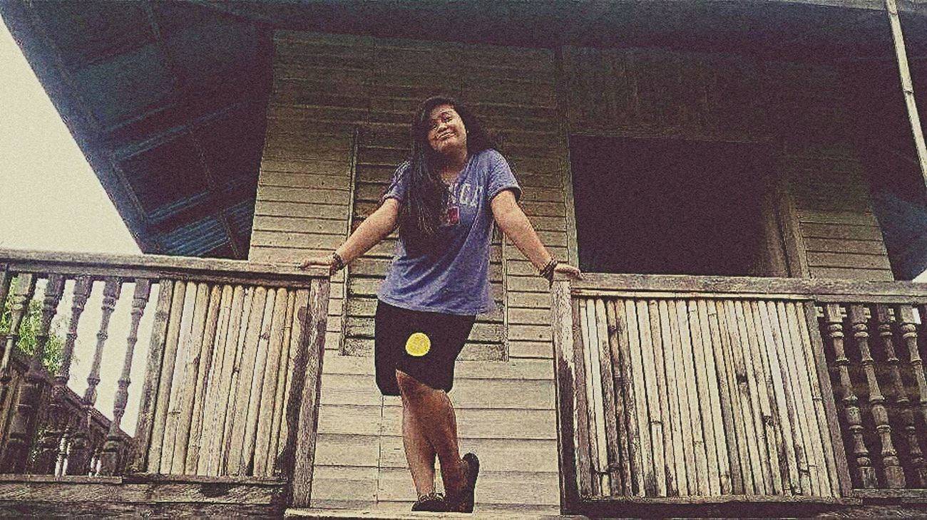 Hello! This is me 😊 ©Babe 3dayvacation 043015 Nueva Ecija Old House Vintage Eyeem Philippines Farm Harvest Fruits Connected With Nature