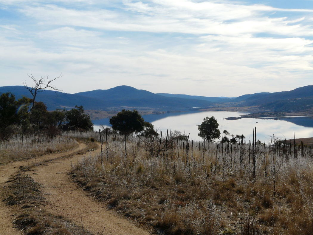 Lake Jindabyne Australian Landscape Beauty In Nature Cloud Cloud - Sky Crisp Day Deciduous End Of The Day Idyllic Jindabyne Lake Lake View Landscape Mountain Nature No People Non-urban Scene Outdoors Remote Rural Scenics Sky Tranquil Scene Tranquility
