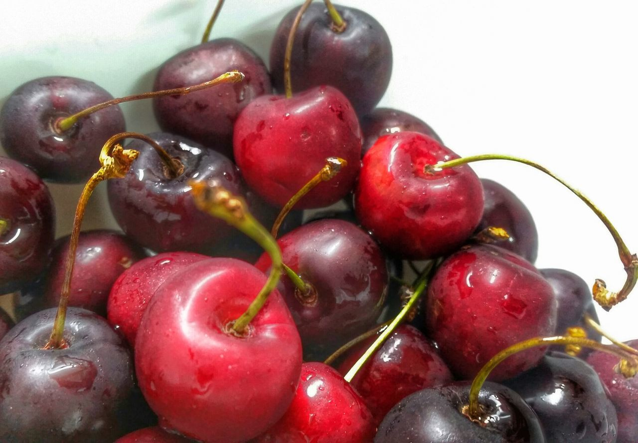 """ Srawberries, Cherris ... an Angel's Kiss in Spring. My Summer Wine is really made from all these things...🍒"" Cherries Eye4photography  Nature's Diversities - 2016 EyeEm Awards Every Picture Tells A Story Sweet Temptation Lyrics On My Mind The Essence Of Summer Red Fruit Bowl Fresh Fruits EyeEm Nature Lover Focusedonsubject Cherryred"