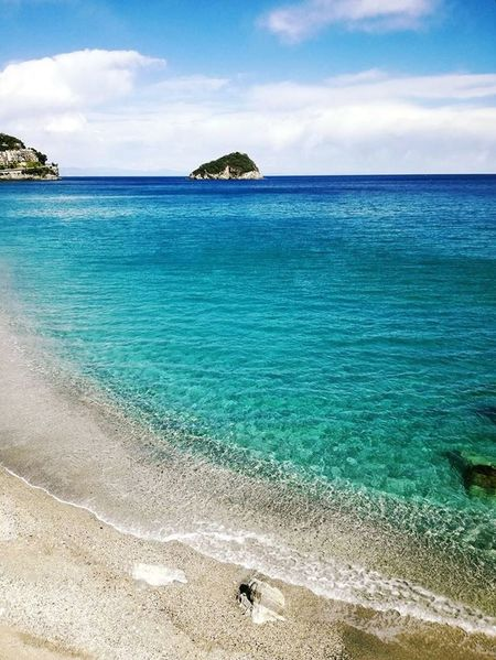 Beach Sea Sand Nature Cloud - Sky Idyllic Vacations Sky Tranquility Outdoors Water Day Travel Destinations Scenics Horizon Over Water Beauty In Nature Tranquil Scene Summer Landscape Relaxation Italy