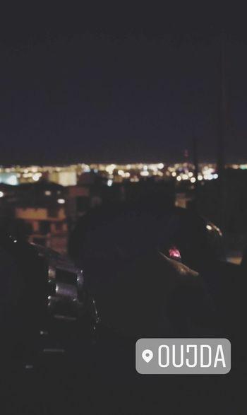 Oujda Morocco Text Night Communication No People City Outdoors Illuminated Sky People Morocco Watch Sidi Maafa Urban Love Loneliness Cigarets