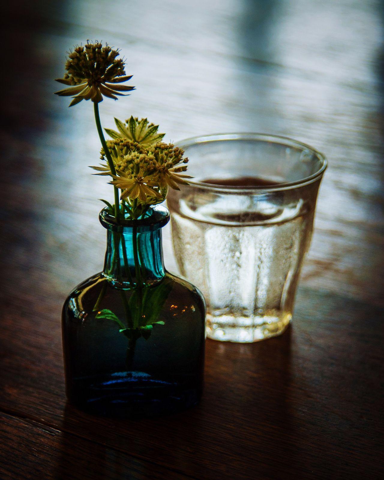 Flower Vase Table Bottle Drinking Glass Drink Water Flower Head Glass Of Water Glass