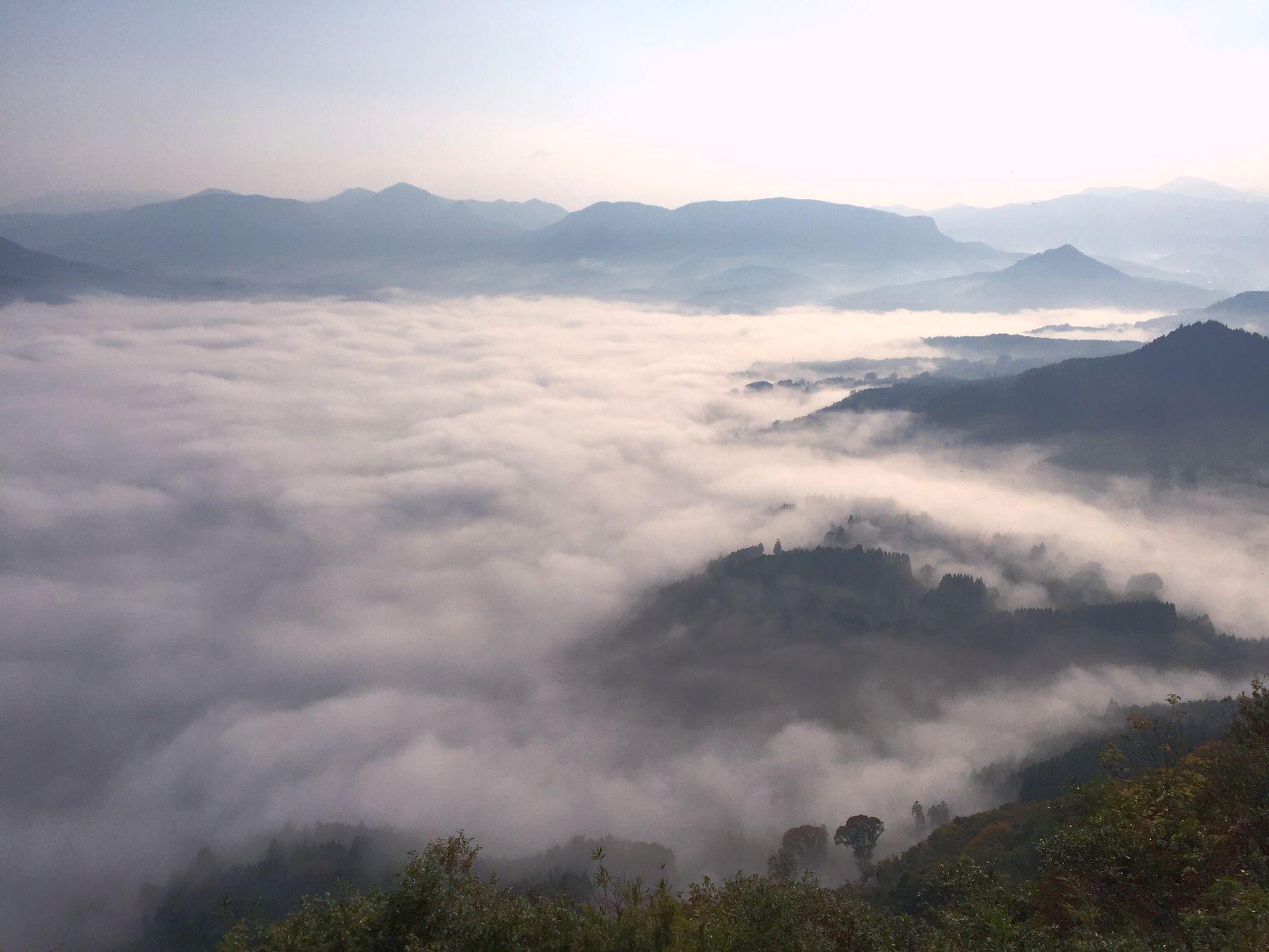 少し前の雲海 Clouds Foggy Morning CLOUDSEA Landscape Sky