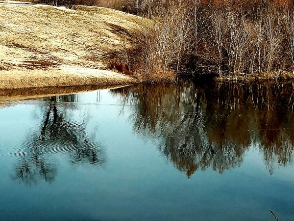 Reflection Nature Lake Beauty In Nature Serchingforhope Landscape Scenics Watercircles Clearday