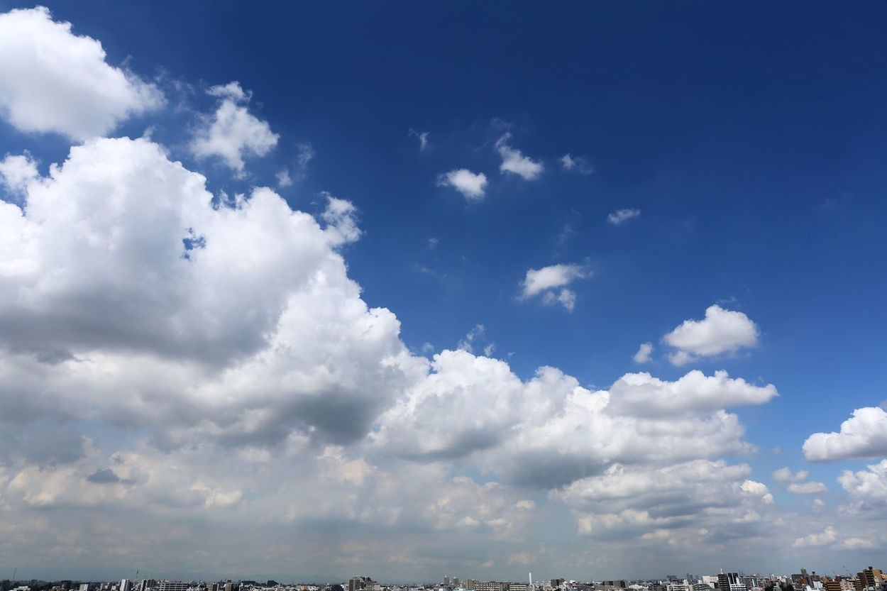 Clouds of Tokyo Autumn Clouds Autumn Of Tok Blue Building And Clouds Bulesky City Skyline Cloud Cloud - Sky Clouds Tokyo Sky