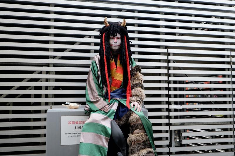 鬼? Cosplay Costume Fujifilm Fujifilm X-E2 Fujifilm_xseries Japan Japan Photography Tokyo Young Adult コスプレ 東京 鬼
