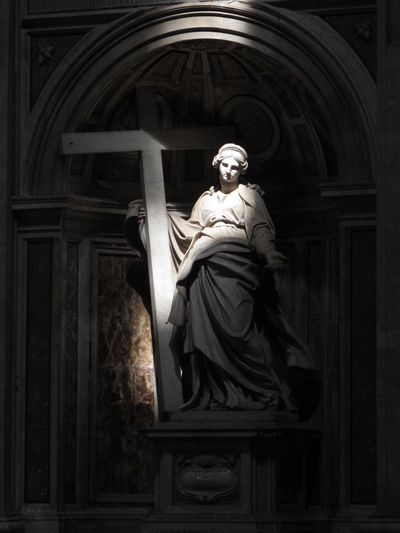 Santa Helena Alone Angel Black Black & White Blackandwhite Built Structure Church Cross Female Likeness Helena History Hope Human Representation Light Place Of Worship Religion Saint Sancta Helena Sculpture Spirituality Statue White Black And White Friday