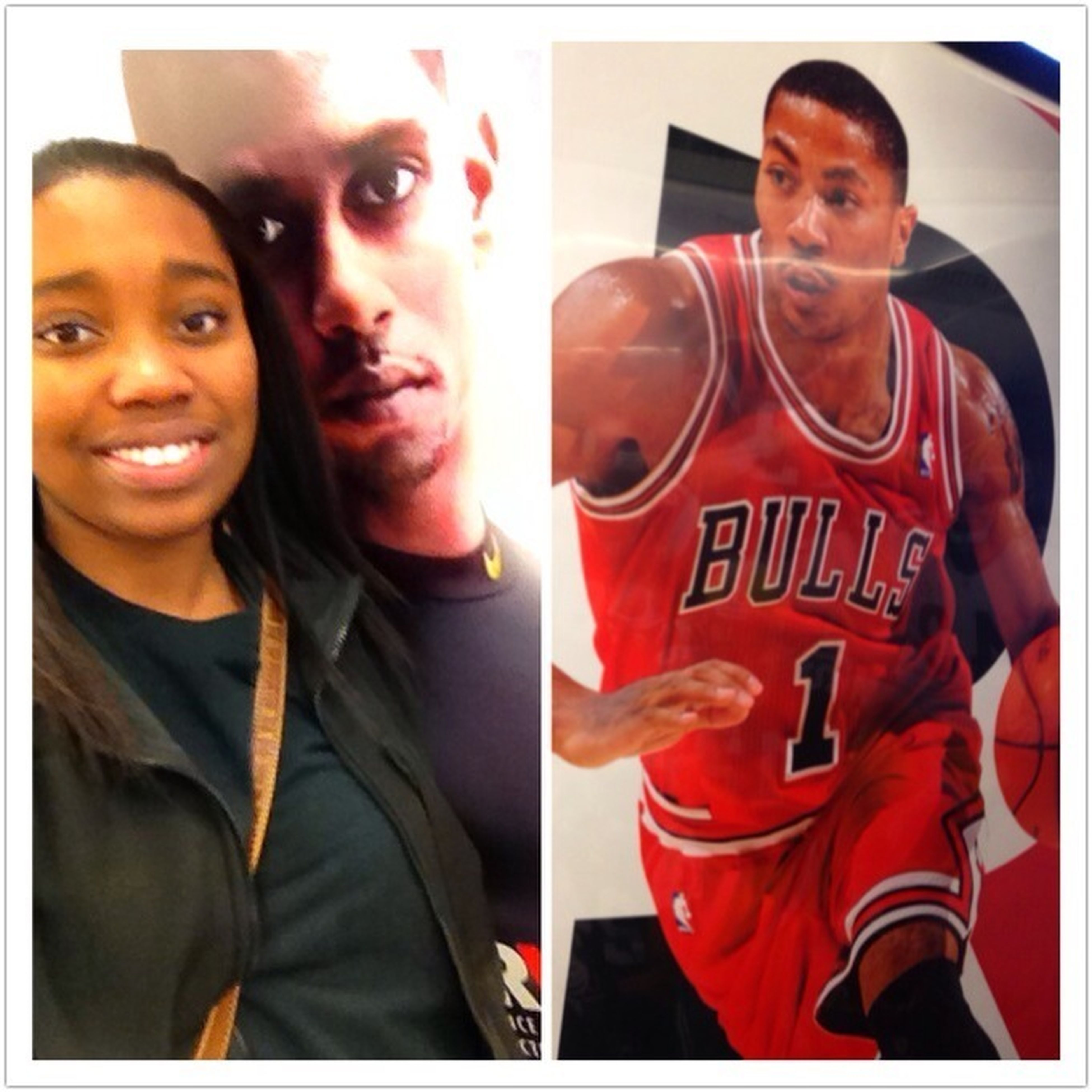 Oh You Kno The Usual Hanging With Victor Cruz & Derrick Rose