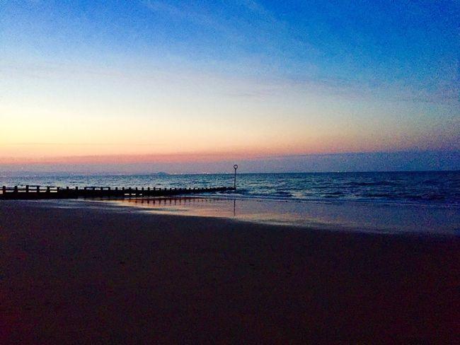 The Great Outdoors With Adobe Sunset #sun #clouds #skylovers #sky #nature #beautifulinnature #naturalbeauty #photography #landscape Scotland Eye Em Nature Lover Sunrise_sunsets_aroundworld Portobello Beach, Edinburgh Edinburgh