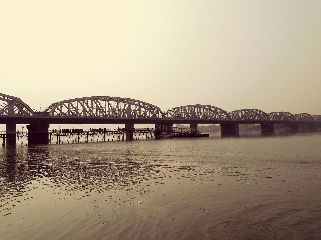 Dakshineshwar Bridge Moment From Memory :)