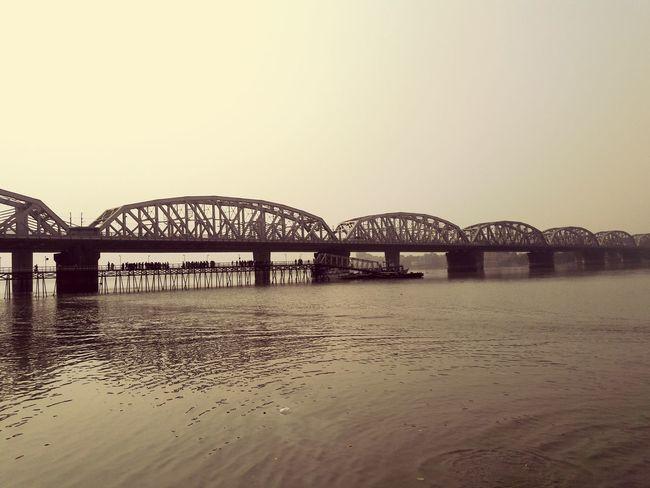 Dakshineshwar Bridge Moment From Memory :)