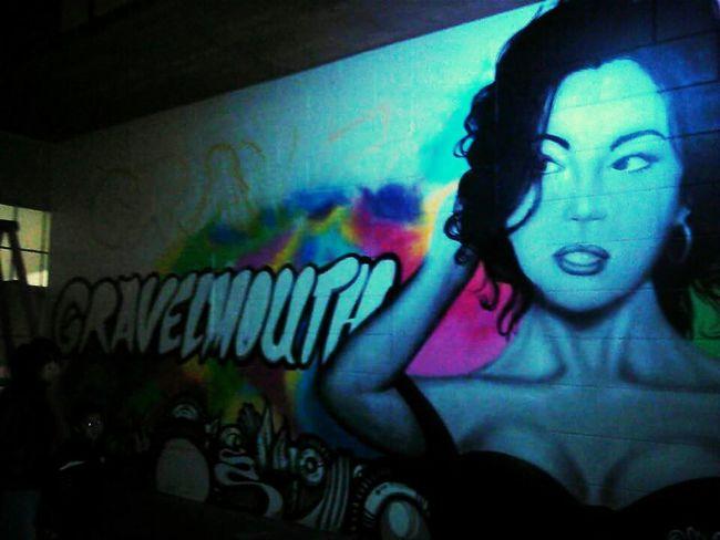 Graffity Art Love Color Portrait