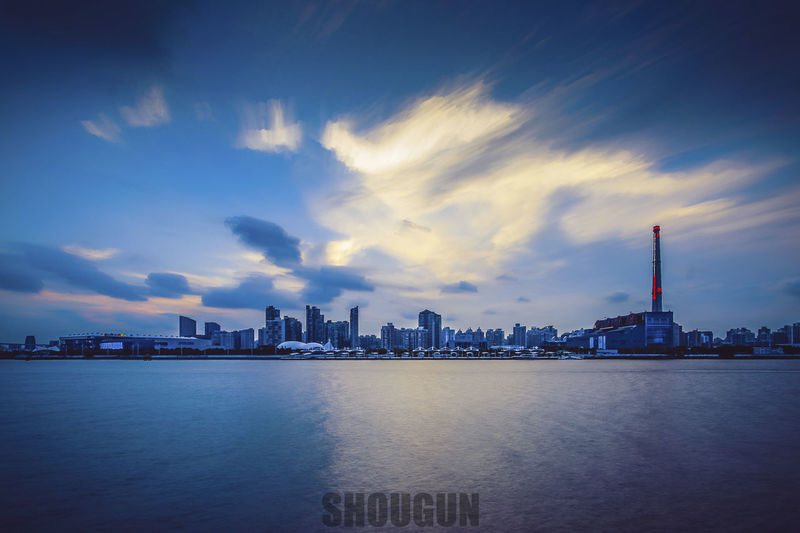 Architecture Beauty In Nature Blue Sky Blue Wave Cloud - Sky Clouds And Sky Sky Water_collection Waterfront