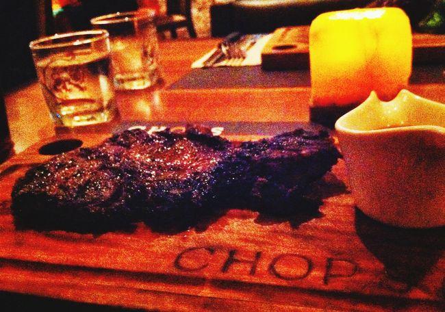 Steaks tonight! ?