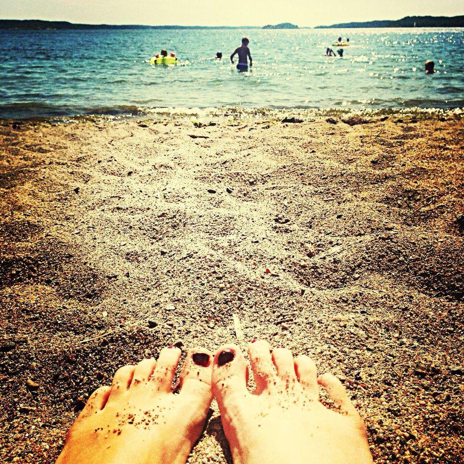 Beach Summer Sun Enjoying Life