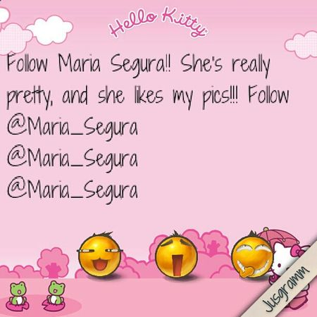 Follow Her NOW PLEASE!!!